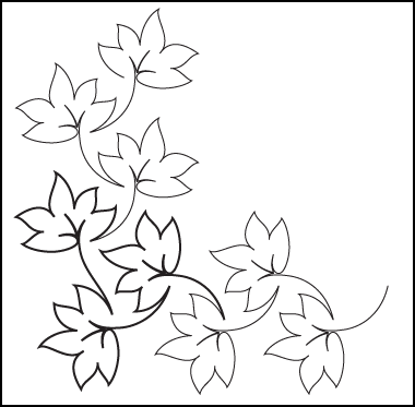 Fall Leaves Clip Art Black And White Clipartioncom