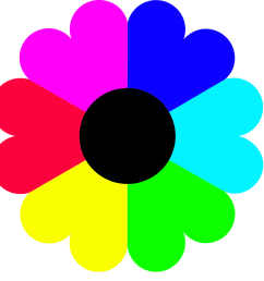 flowers for gt flower clip art [ 900 x 900 Pixel ]