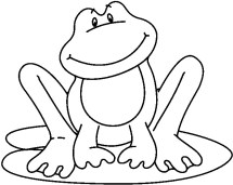 Best Frog Clipart Black And White 13262 Clipartioncom