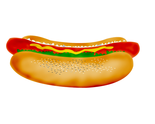 small resolution of hot dog clipart free clip art images