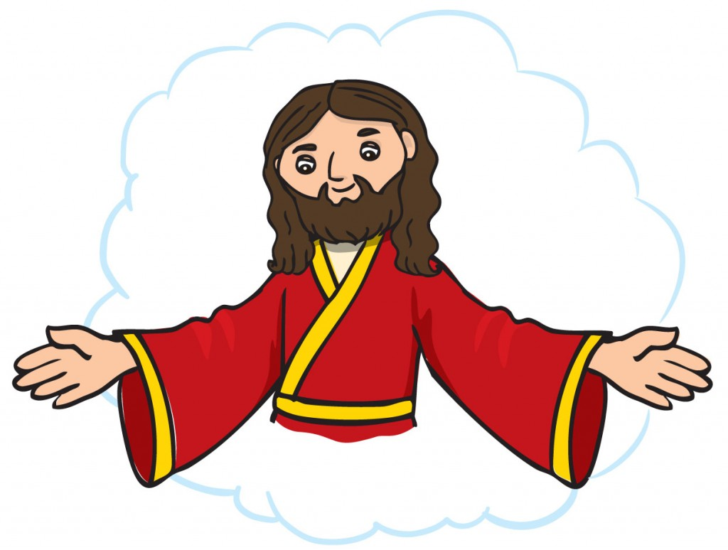 hight resolution of jesus outstrhed hand clipart