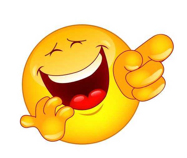 laughing face clip art #18178