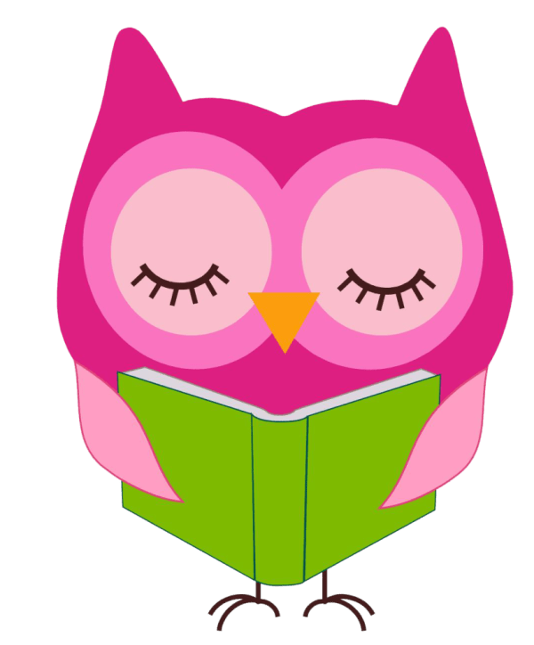 Owl Reading Clipart #21049