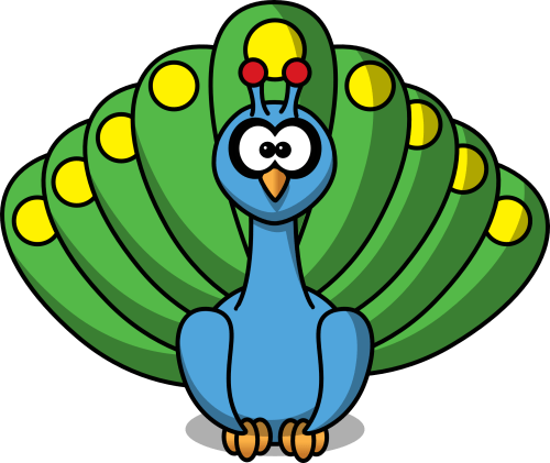 small resolution of peacock feather border clipart free clipart images