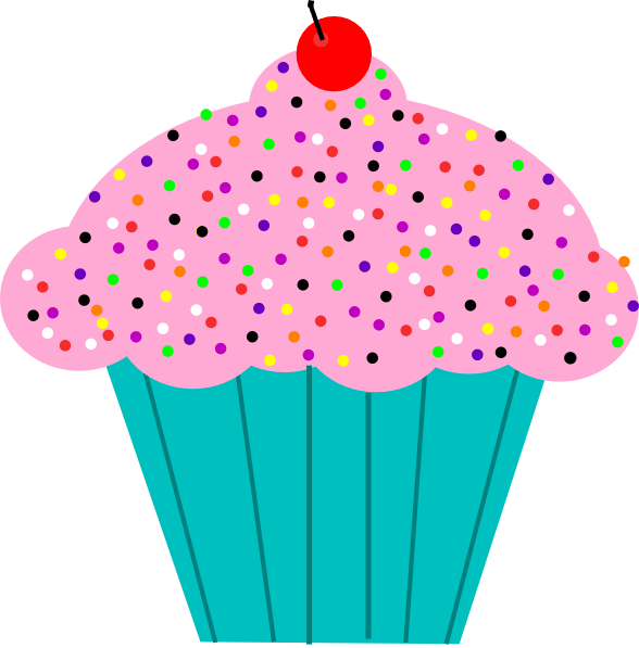 birthday cupcake clipart #20727
