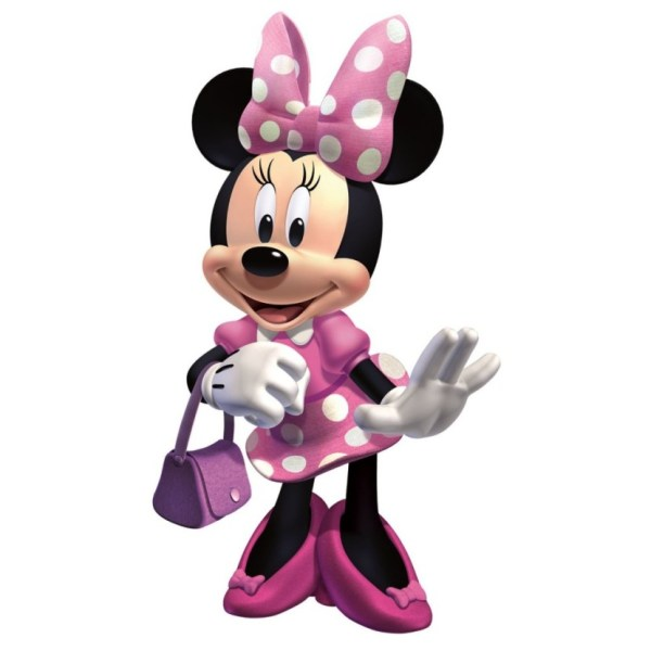 Pink Minnie Mouse Clip Art