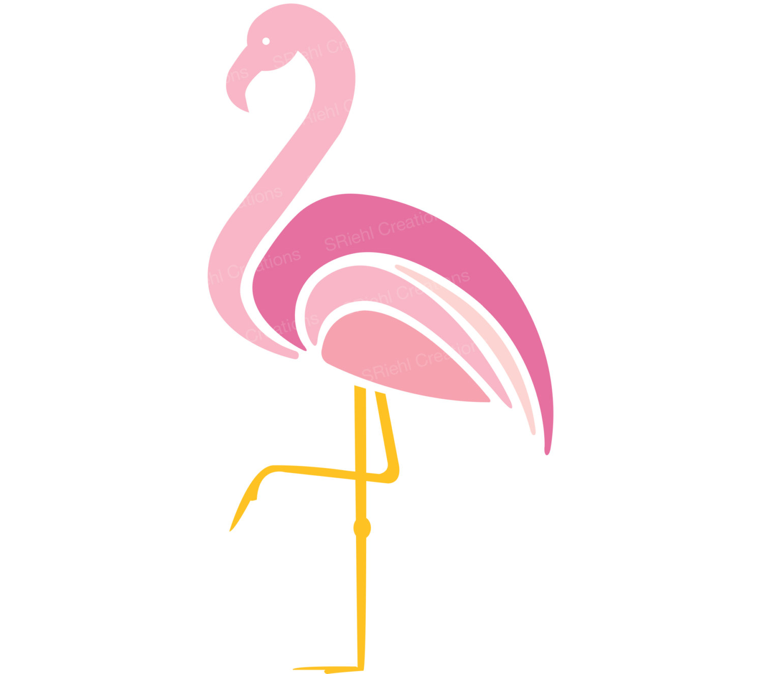 hight resolution of popular items for flamingo clipart on etsy