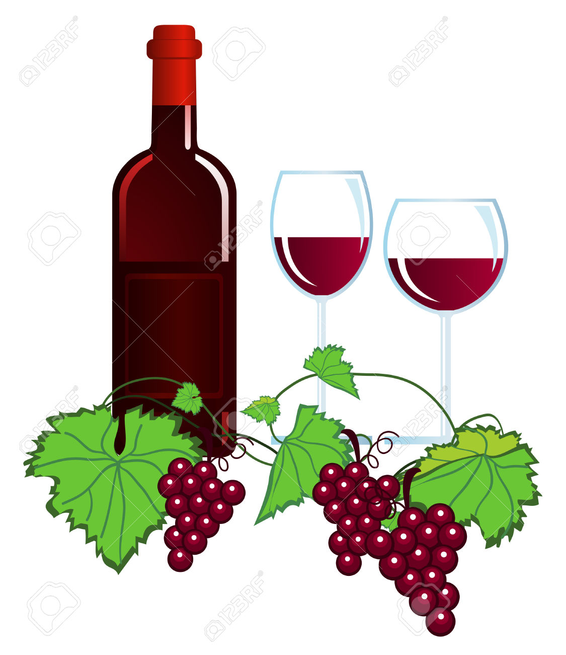 hight resolution of rose wine stock illustrations cliparts and royalty free rose wine