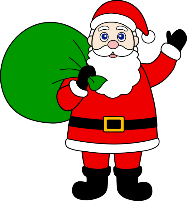 Cartoon Santa Claus Clip Art