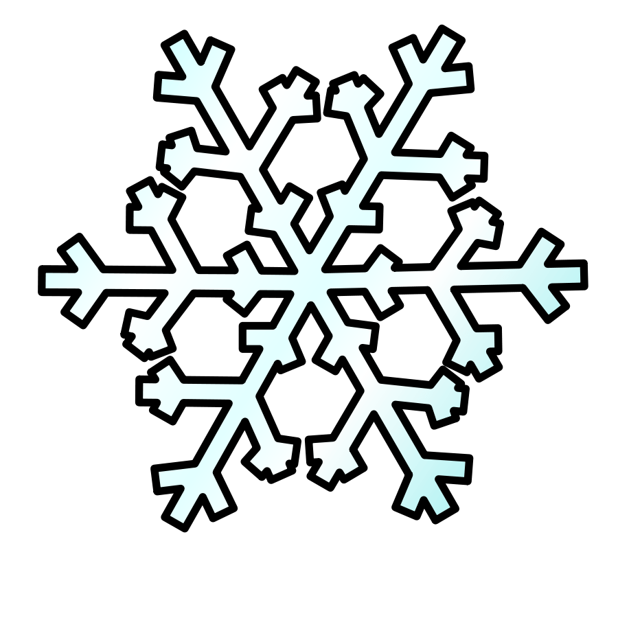 hight resolution of snow clipart 8675