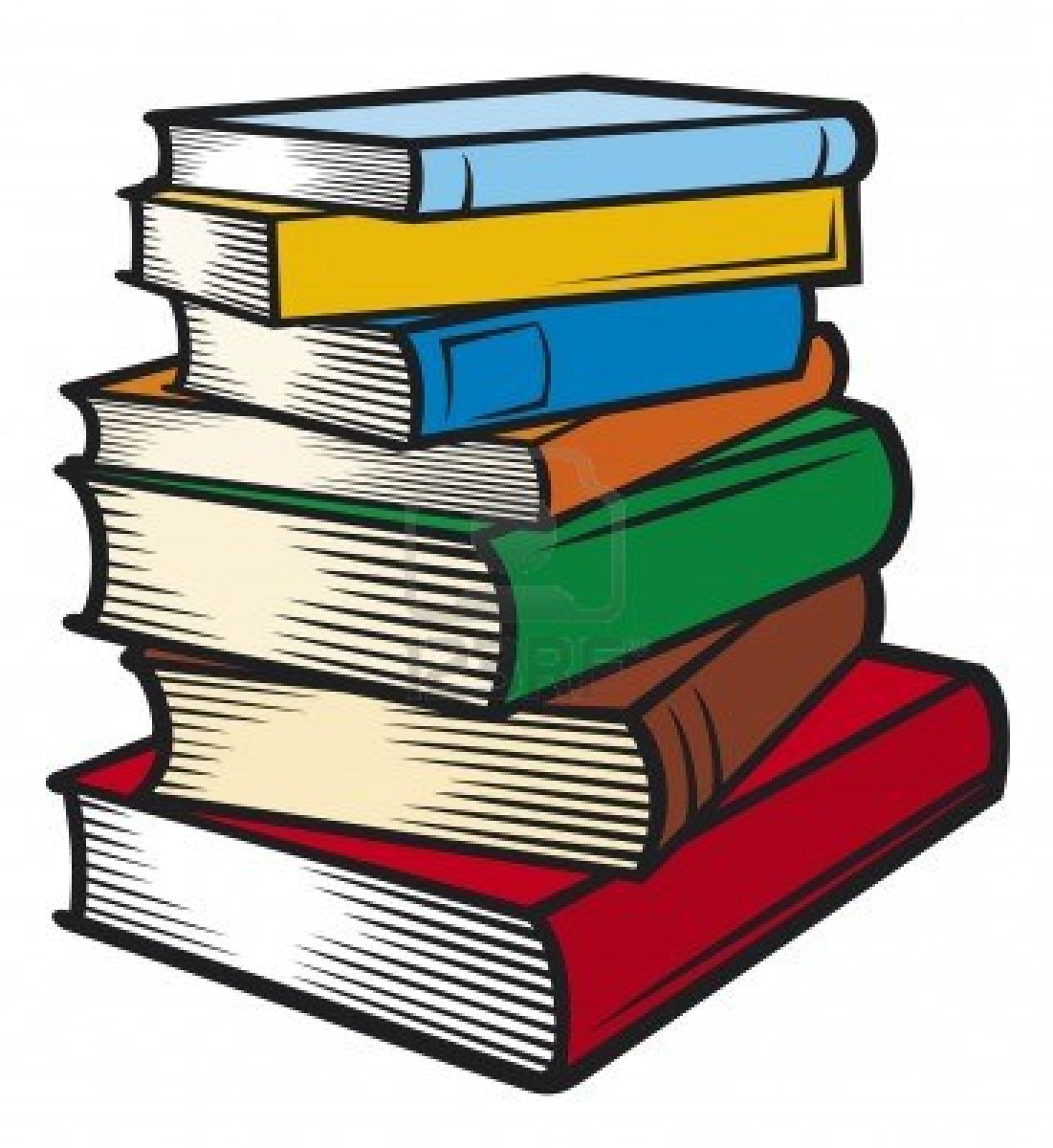 hight resolution of books clipart 8204