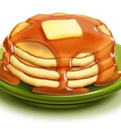 stack of pancakes clipart free clip art images [ 2400 x 1749 Pixel ]
