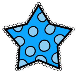 star clipart student dot clip polka miss creative sunday clips homework fun sharing stars pink second students don well transparent