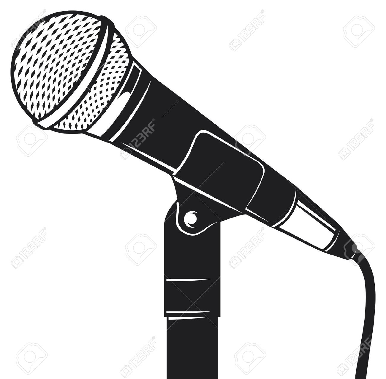 Best Microphone Clipart