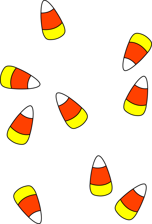 small resolution of halloween candy clipart free