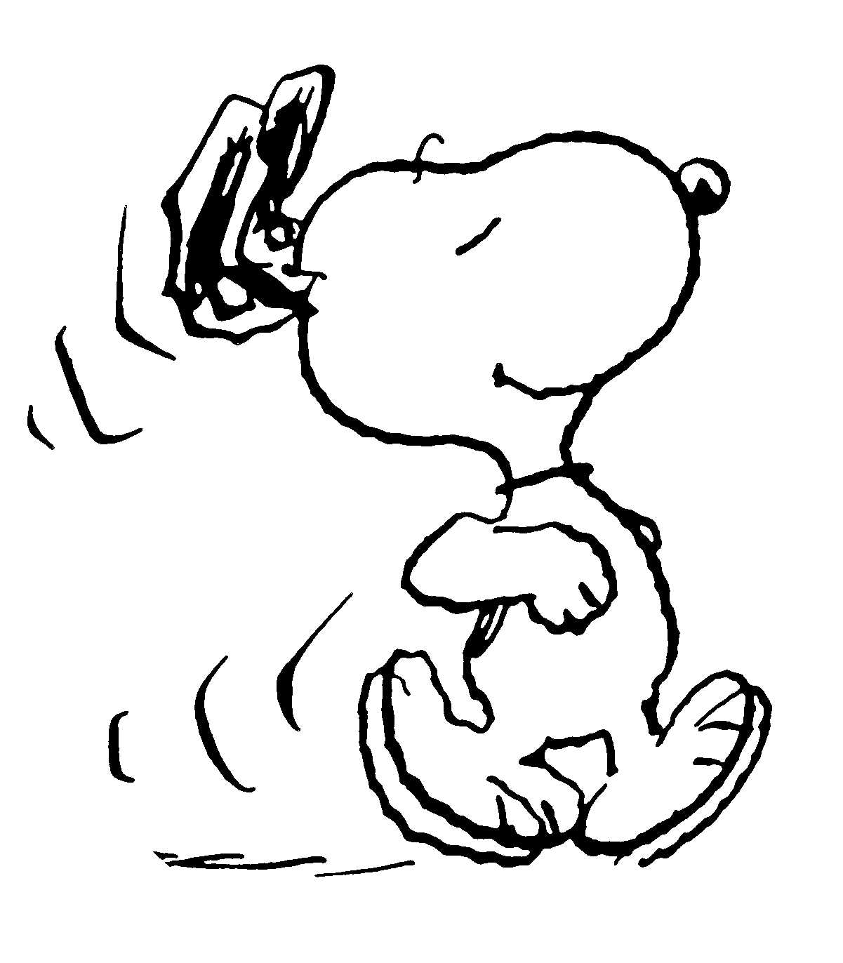 Best Snoopy Clipart