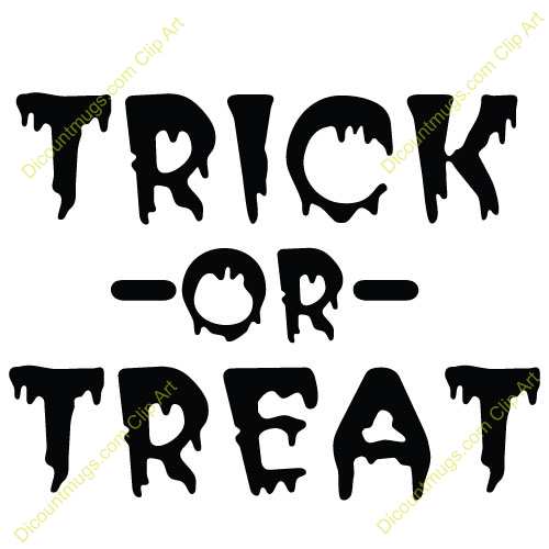 Halloween Trick Or Treat Template Pictures to Pin on