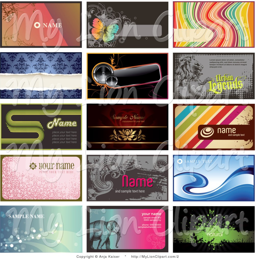 medium resolution of free clipart for business cards 23322