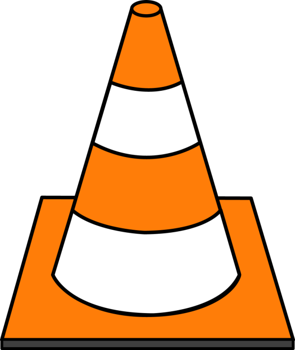 Construction Cone Clip Art Free