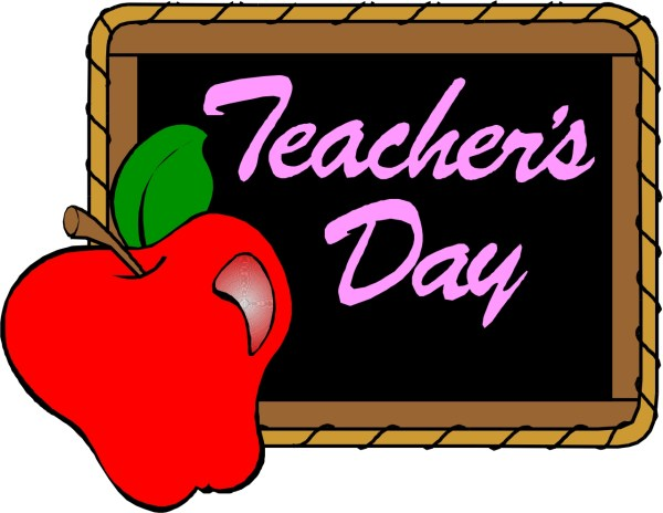 teacher apple clipart #27451