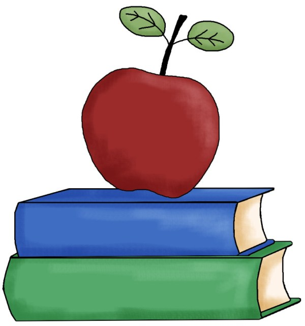 teacher apple clipart #27432
