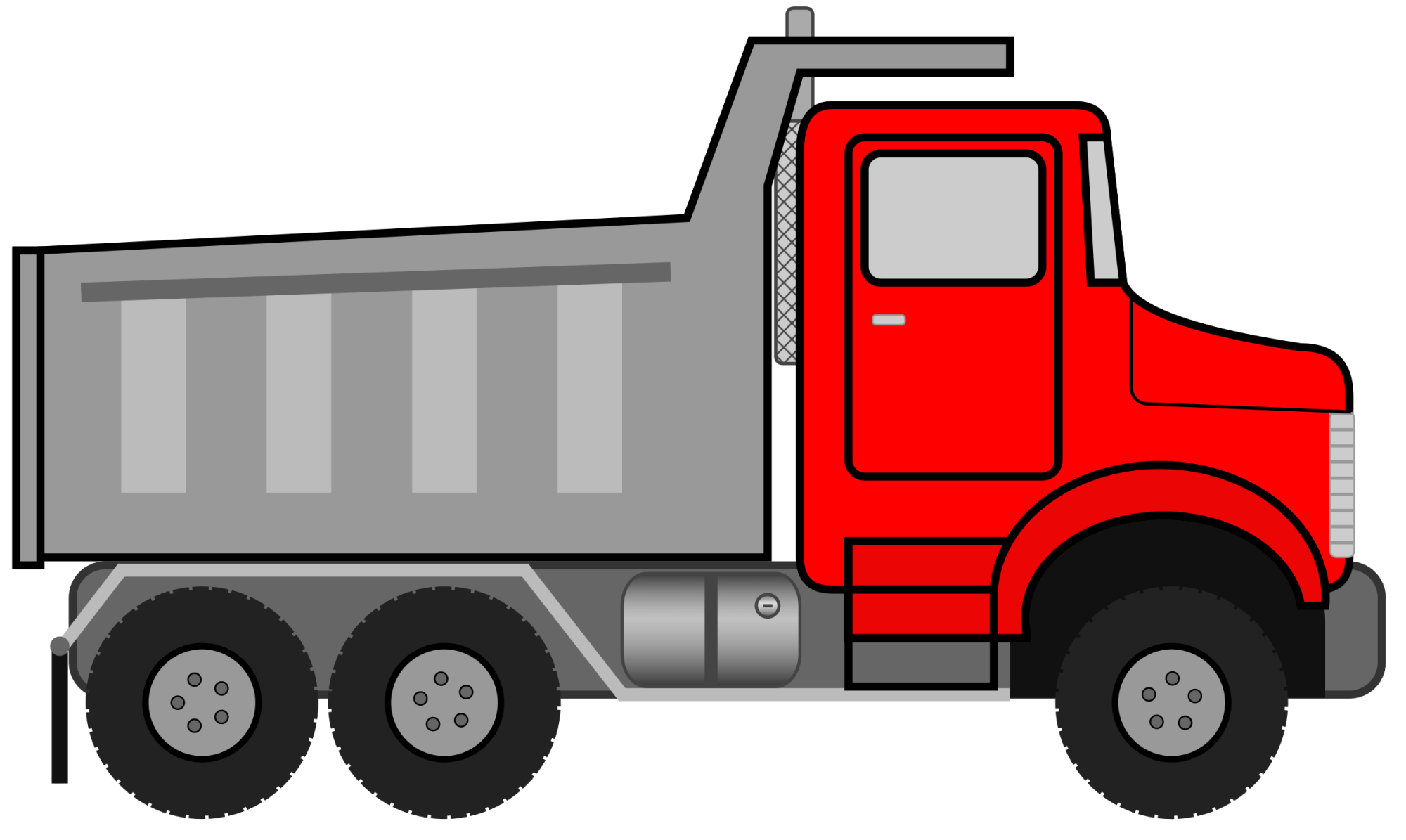 hight resolution of truck clipart 26897