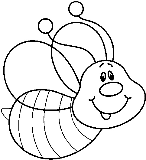 20 Black And White Bees Clip Art Nature Ideas And Designs