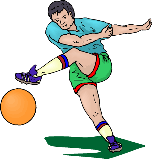 small resolution of football player free image