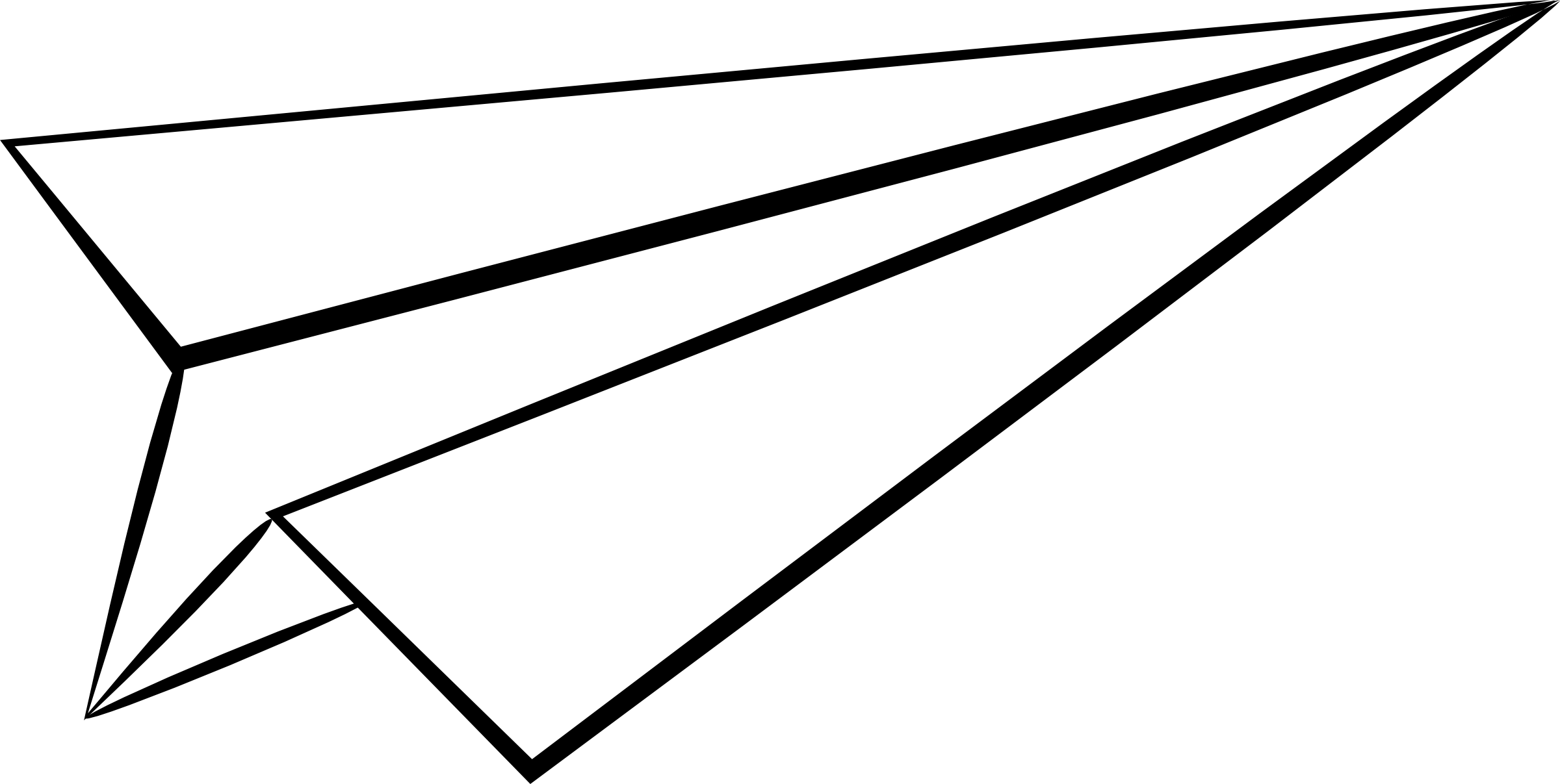 Best Paper Airplane Clipart