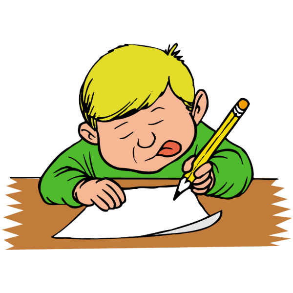 Letter-Writing Clip Art