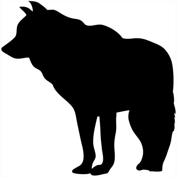 Wolf clip art at clker vector clip art free Clipartix
