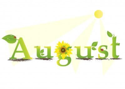 free august clip art