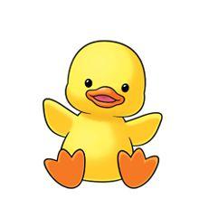 baby duck clipart - clipartix