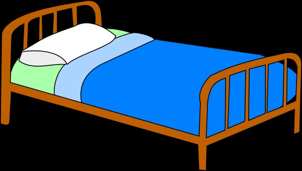 free bed clipart - clipartix