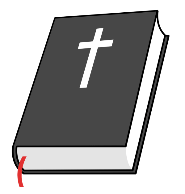 Bible and Cross Clip Art Free