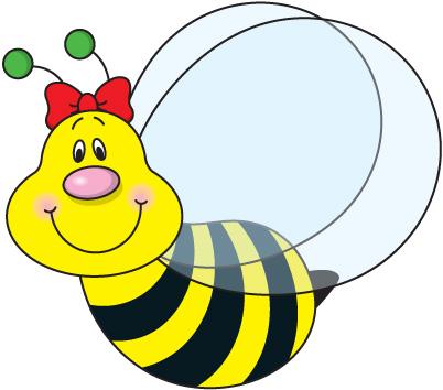 free bee clip art - clipartix