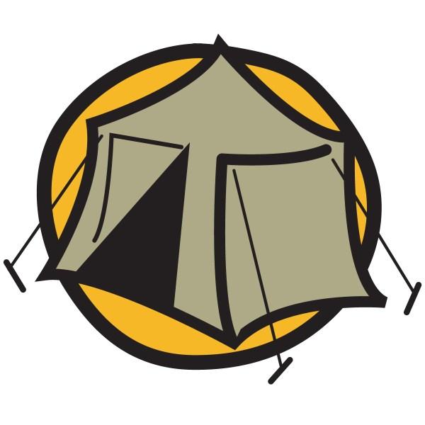Camping Tent Clip Art Free Dromfgc Top - Clipartix