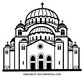 Church vector clip art free vector graphics download free Clipartix
