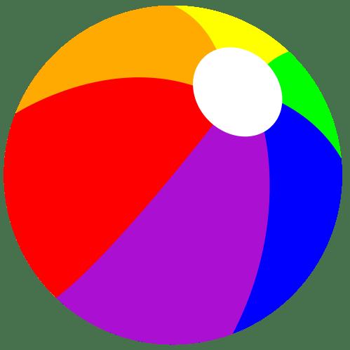 small resolution of clipart beach ball