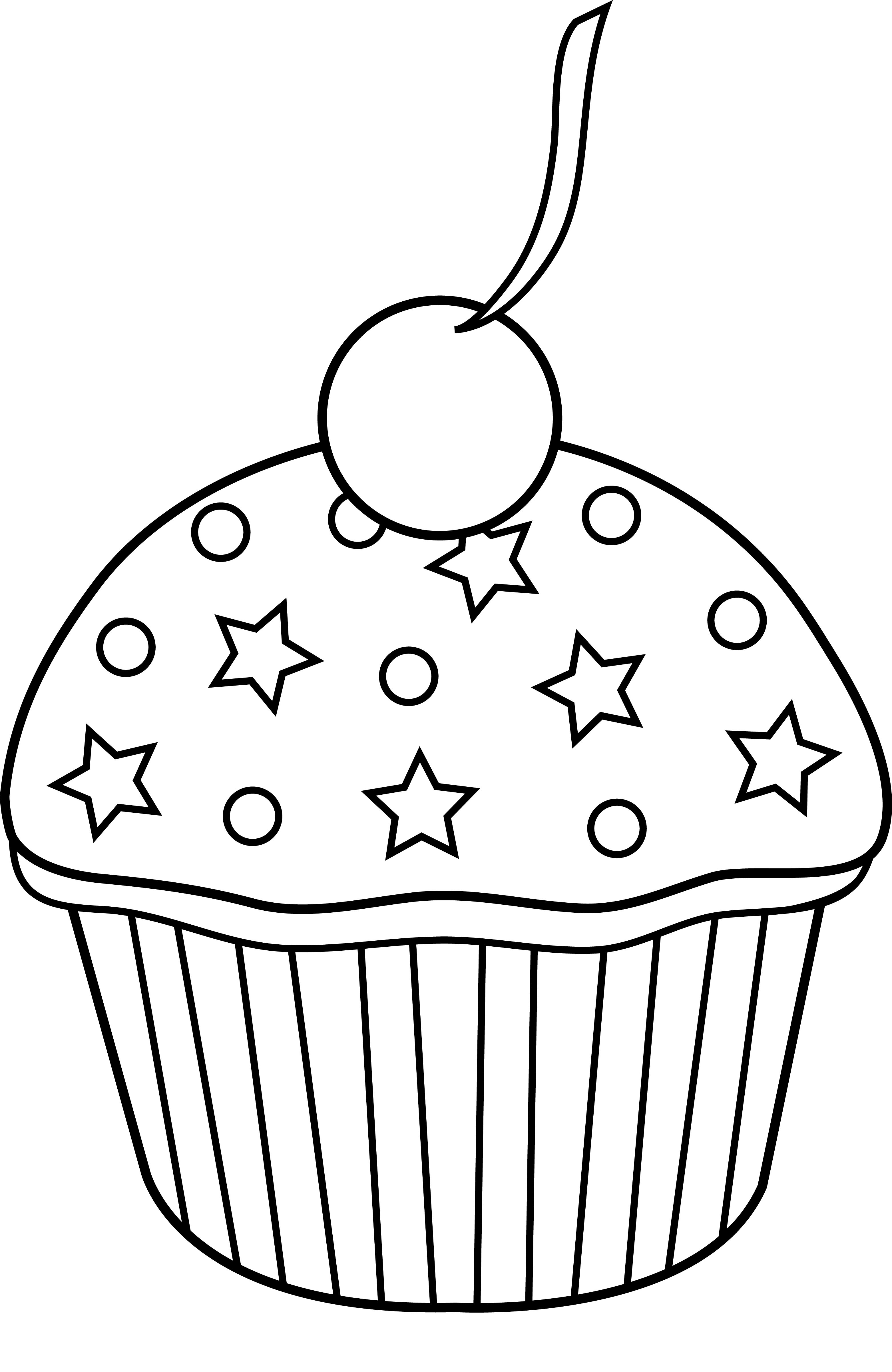 Free Cupcake Clip Art Pictures