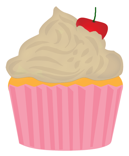 Cute Birthday Cupcake Clip Art Free Clipart Images Clipartcow