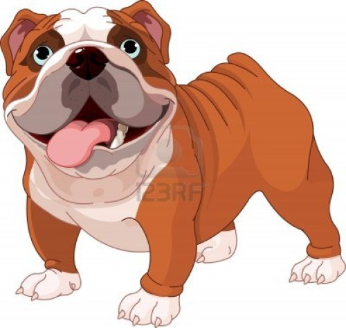 small resolution of cute bulldog clipart free clipart images