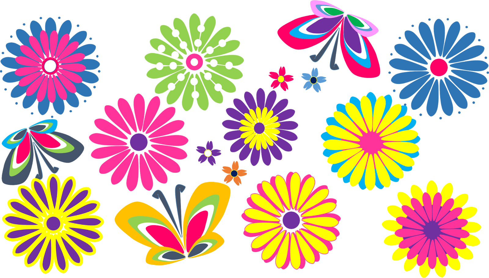 hight resolution of flowers clipart clipart club