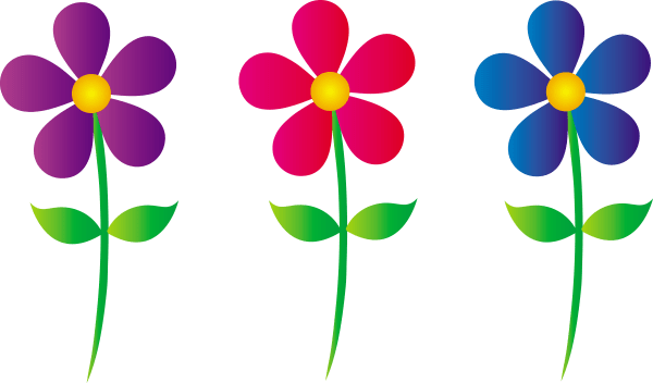 Free Clip Art Graphics Flowers Flower Clipart Cards