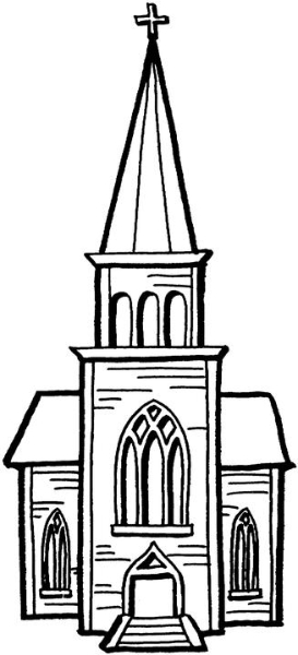 free church clip art