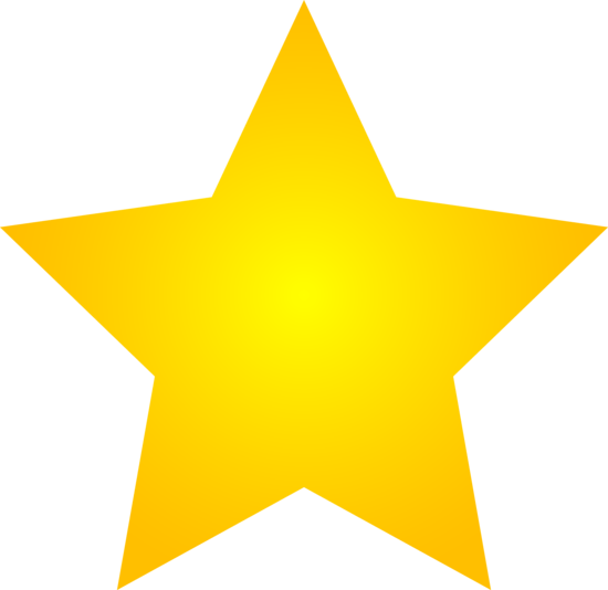 gold star clipart background