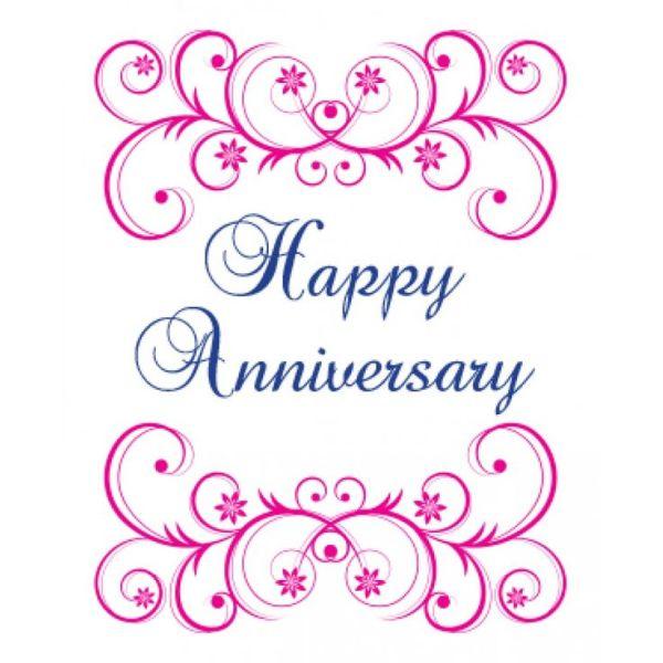 happy anniversary wedding