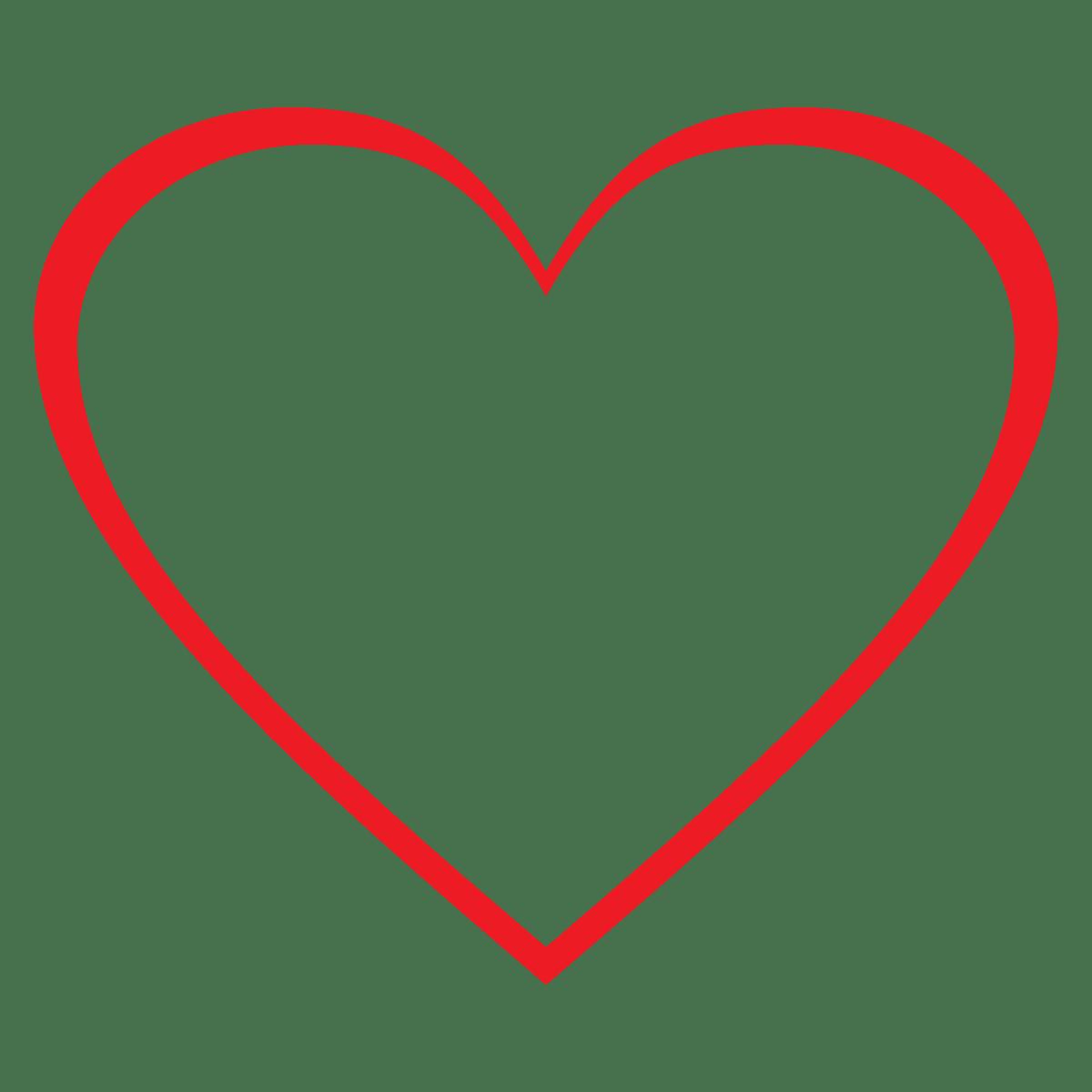 hearts free heart clip