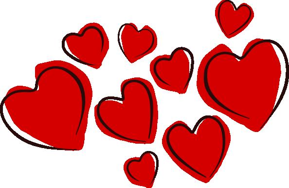 hearts heart clip art microsoft