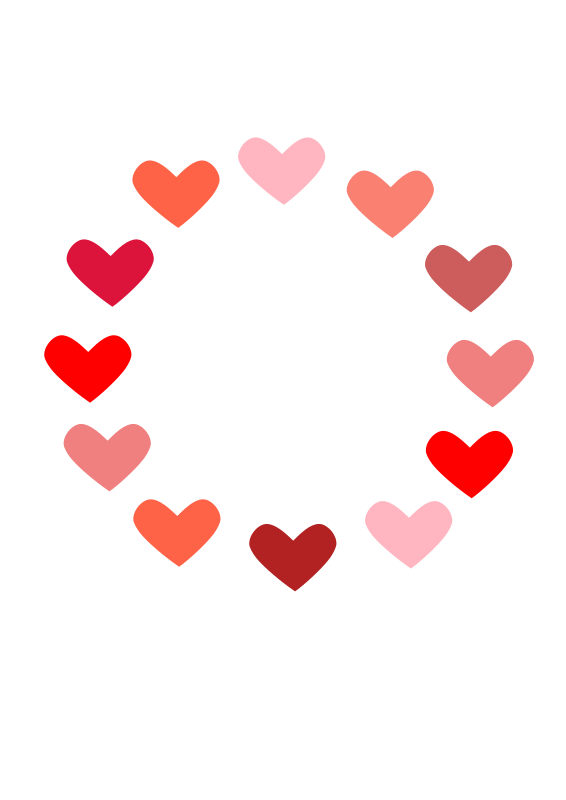 hearts heart backgrounds clip art